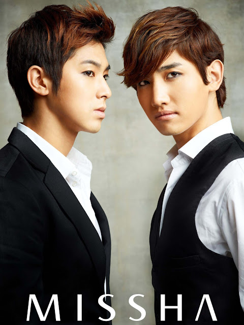 Image of TVXQ (Yunho, Changmin) for Missha