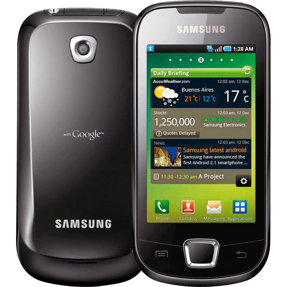 Samsung I5800 Galaxy 3 Firmware