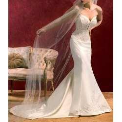 véu de noiva de tule