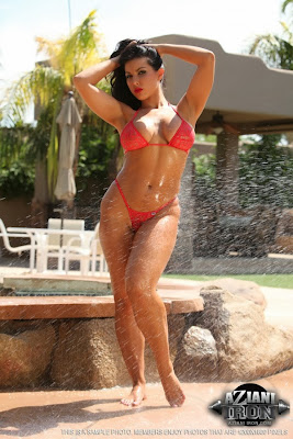 Brianna Jordan_red thong_1