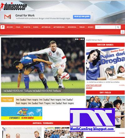 situs sepak bola online terupdate duniasoccer.com