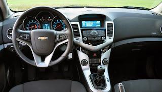 2012 Chevy Cruze ECO Interior