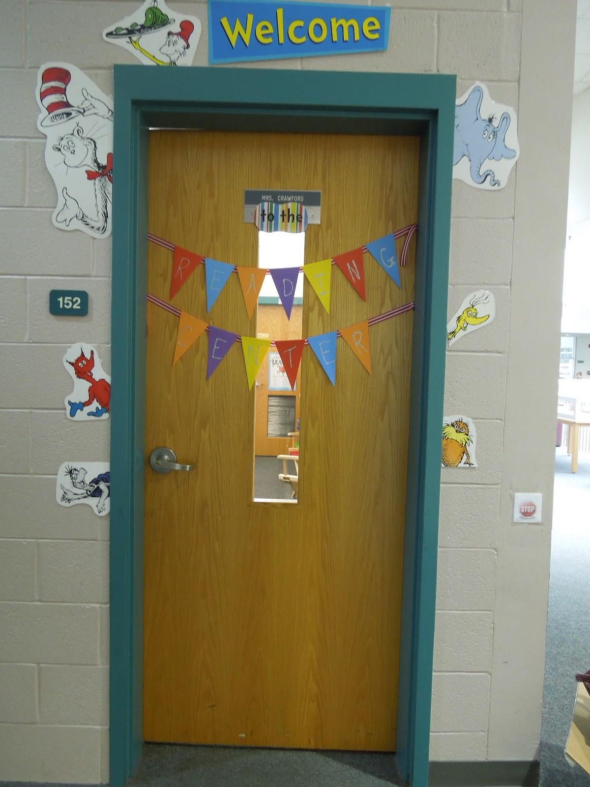 classroom door. August 2012 This Literacy Life Classroom Door