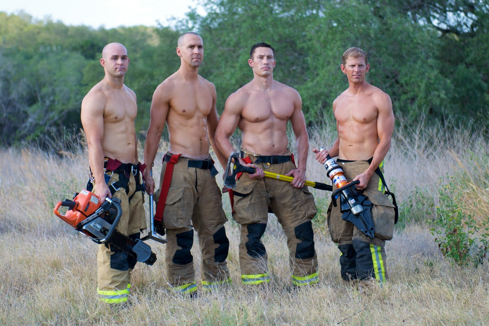 Hot Guys Nude: Hot Firefighters