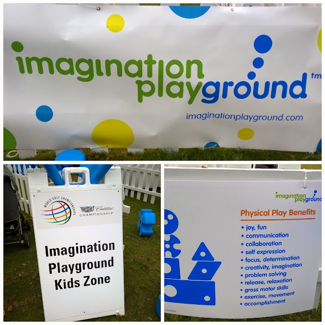 IMGPlayground Zone Entrance at PGA Cadillac Championship