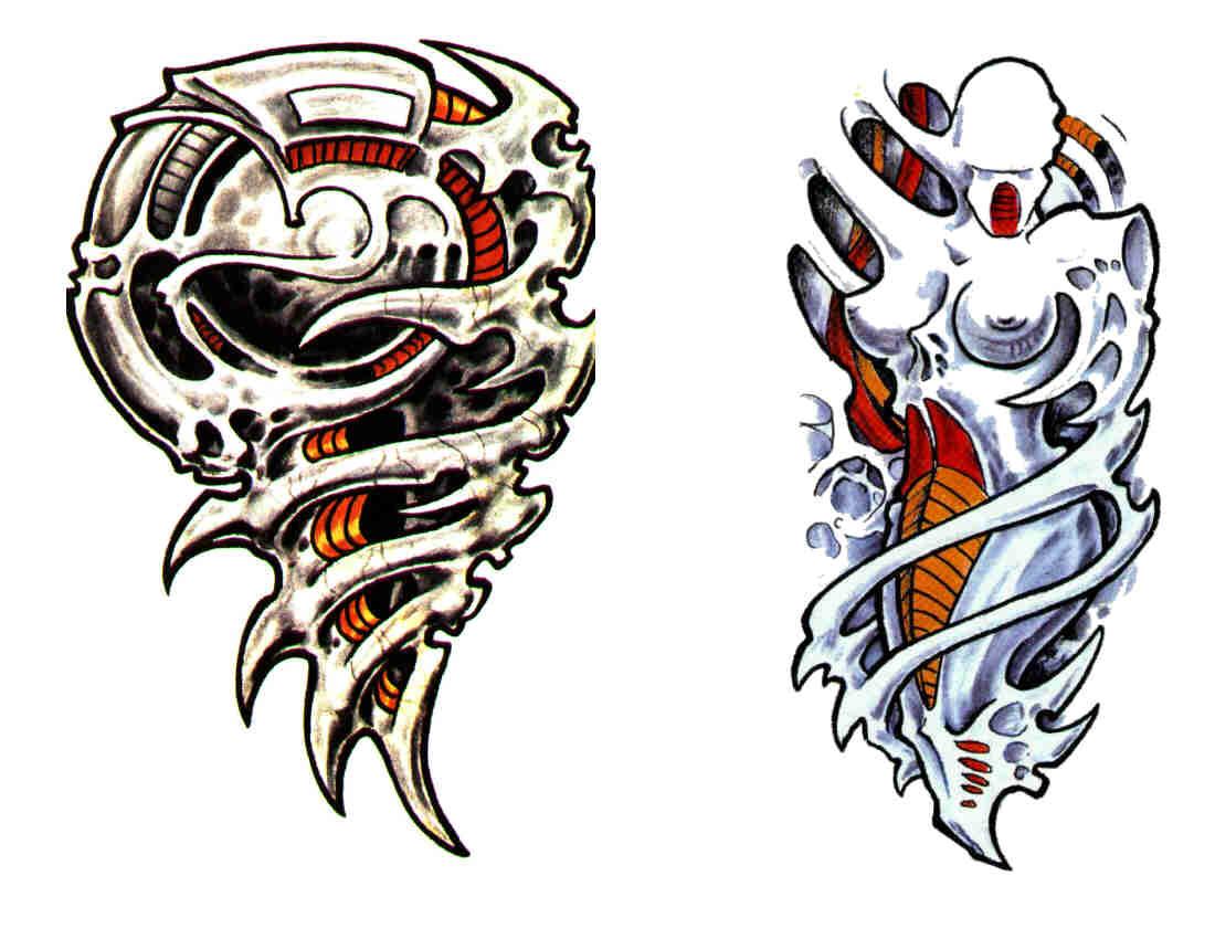 Tattoo Airbrush Biomekanik Tattoo
