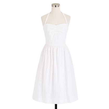 J.Crew Loretta dress in eyelet
