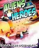 aliens vs heroes java games