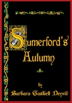 Cover image of the novel Sumerford's Autumn by Barbara Gaskell Denvil