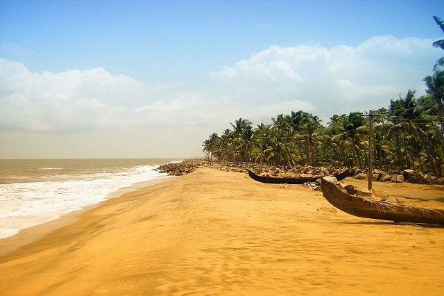 Cherai Beach in Kerala