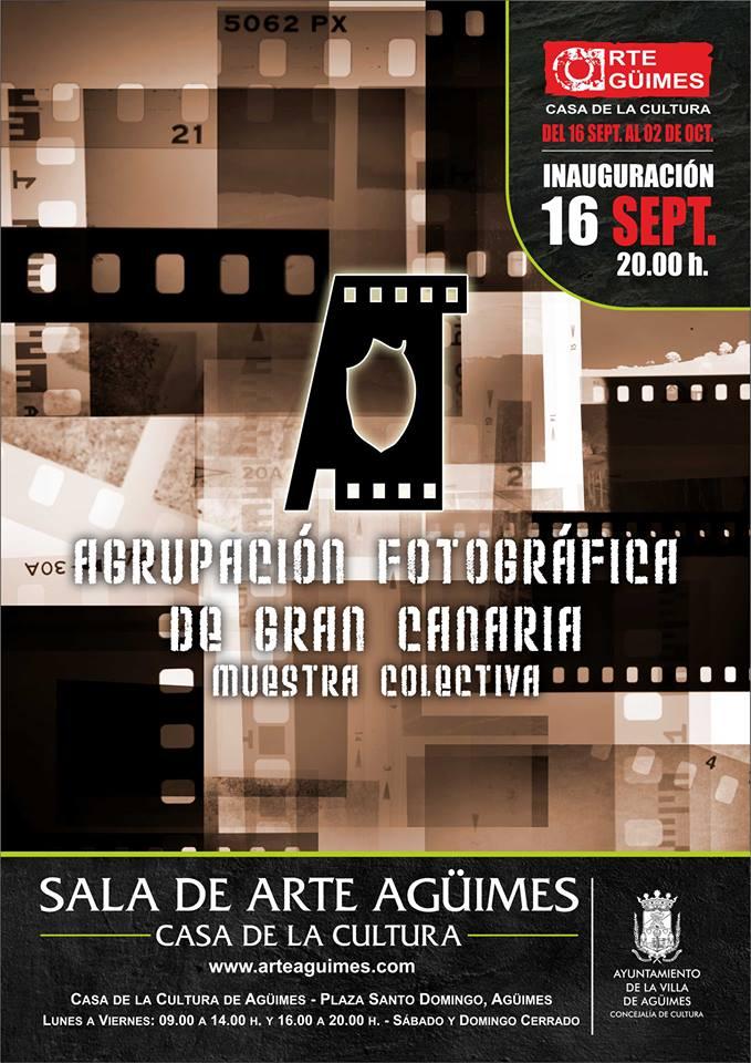 Muestra Colectiva (AFGC) en la Sala de Arte Agüimes