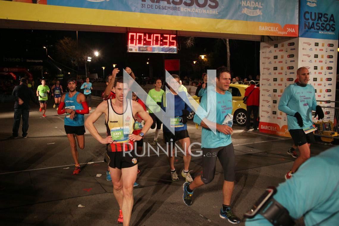 llegada meta cursa dels nassos barcelona 2014