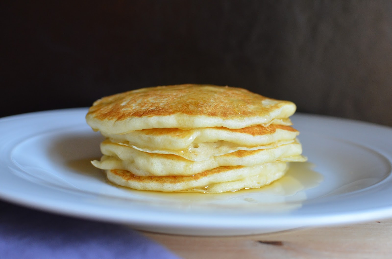 Playing with flour tender pancakes with a secret ingredient generally if i have buttermilk i make these irresistible buttermilk pancakes which even the little one has grown to love the tang though subtle ccuart Image collections