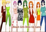لعبة تلبيس فتيات بليتش Bleach girls dress up