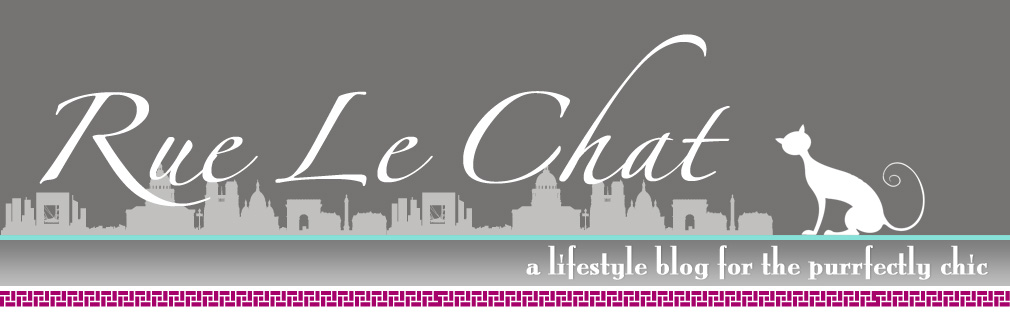 Rue Le Chat  :: a lifestyle blog for the purrfectly chic