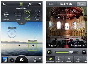 aplikasi foto sebagus instagram, alternatif instagram android, aplikasi keren edit foto hape android