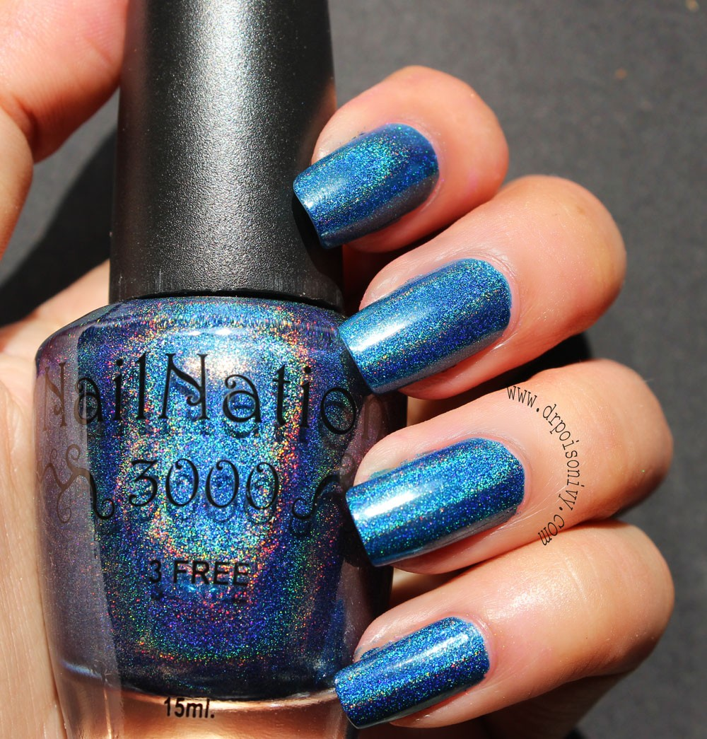Dr.Poison Ivy\'s Beauty Blog: Nail Nation 3000 Holographic Polish ...