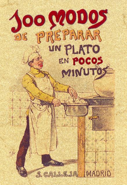 Portada de 100 modos de preparar un plato de Editorial Saturnino Calleja