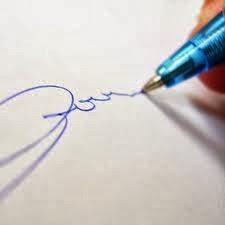 Cara membuat tanda tangan di bawah postingan