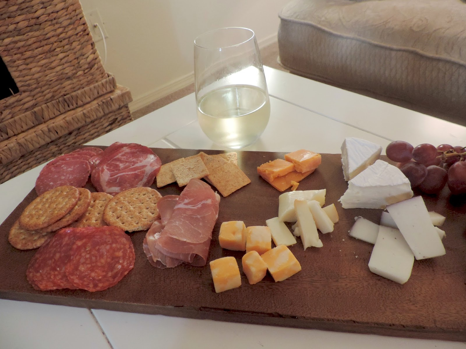 Wine and Cheese Board, Wine, Cheese,