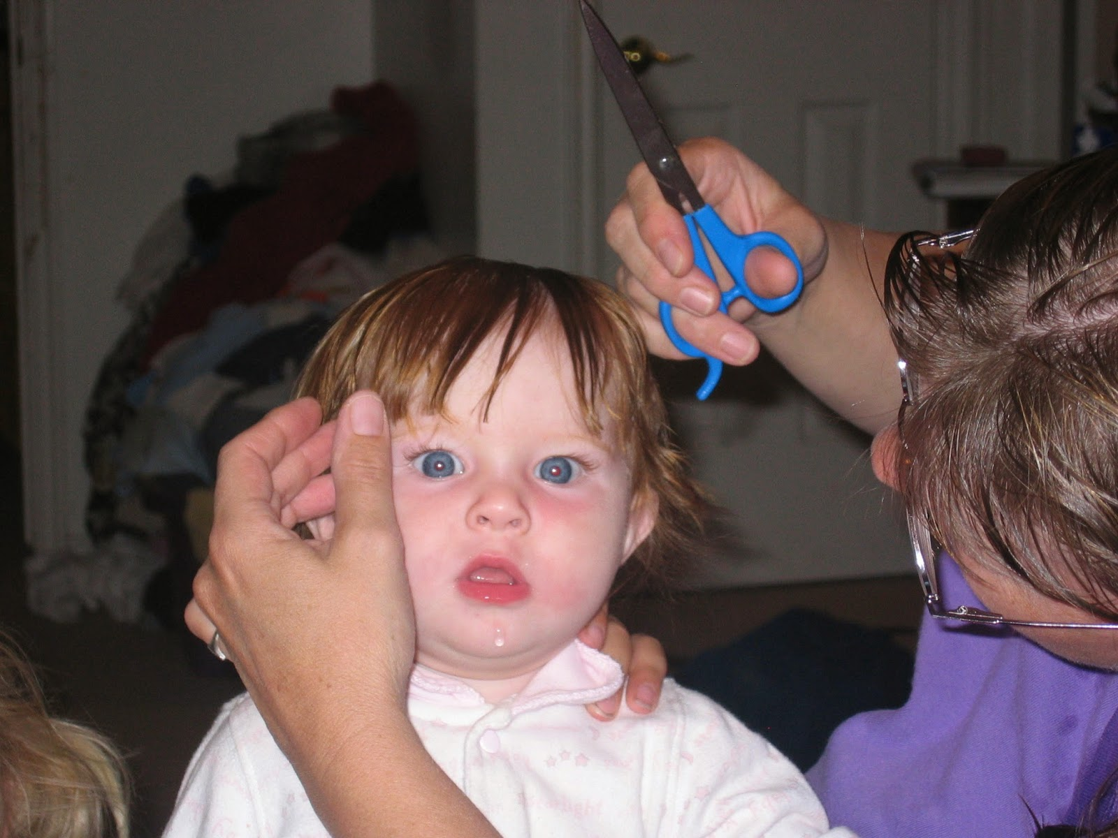 Twelve Makes A Dozen Blast From The Past Baby Scouts First Haircut