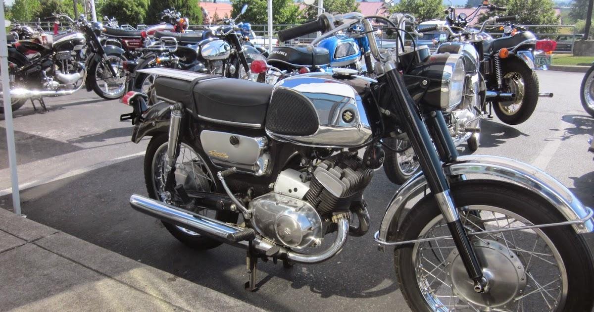 Oldmotodude 1966 suzuki t10 250 on display at the 2014 for Hinshaw honda auburn wa