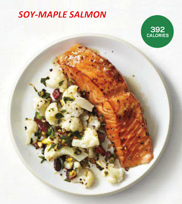 Soy maple salmon healthy fish recipe 392 calories how for Healthiest fish to eat for weight loss