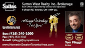 Mississauga Sutton West Realty Tom Pileggi Realtor Mississauga in Mississauga
