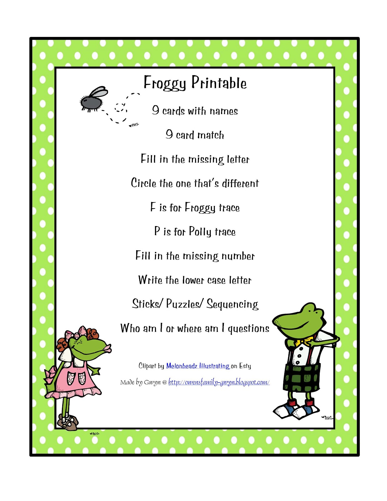 Froggy Stuff Printables | Party Invitations Ideas