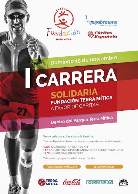 1ª Carrera Popular Solidaria Fundación Terra Mítica