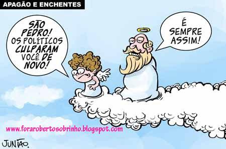 FORA ROBERTO SOBRINHO - PREFEITO DE PVH