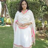 Nitya meenon Latest Photo Gallery in Salwar Kameez at New Movie Opening 45