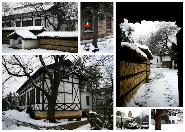 Vratsa in the winter snow