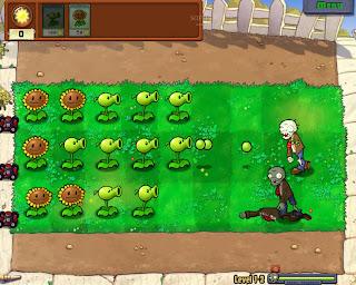 Screeshot Plant Vs Zombie