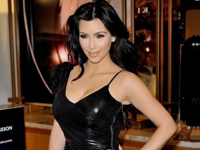 These sexy eyes of Kim Kardashian