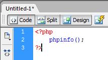 Mencoba Script PHP Sederhana
