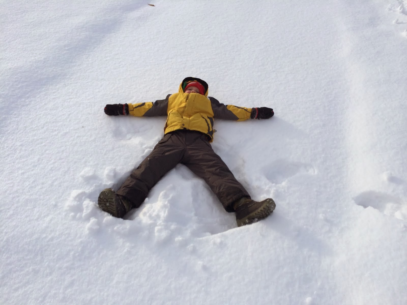 Perfect Snow Angel!
