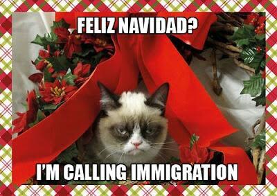 I'm calling immigration