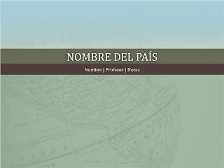 Presentación de informe sobre un país