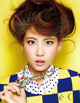 Dahee GLAM Dahee CeCi Magazine August Issue 2013