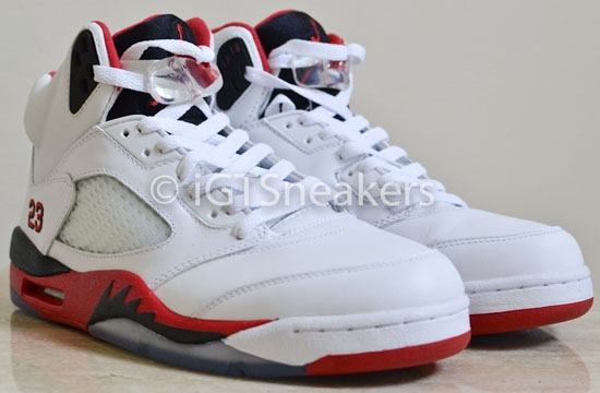 air jordan retro v #1 ebay seller