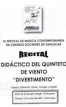 IV Concurso de Música Contemporánea de Sanlúcar de Barrameda
