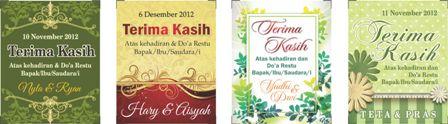 bonus kartu souvenir pernikahan dan jadikan hari pernikahan anda ...