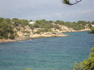 Sea in the middle of the nature - Tarragona