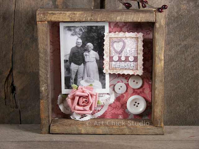 Vintage Photo Shadow Box