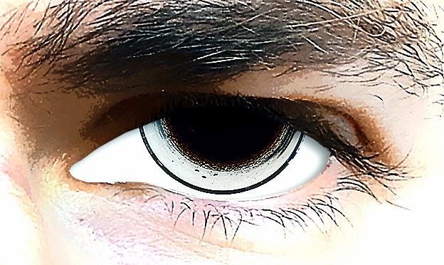 #Auge mit Cola