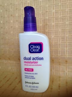 Clean & Clear Dual Action Moisturizer Walmart