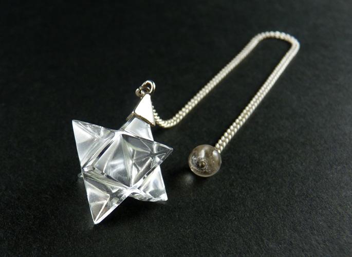 マカバスター クリスタル(水晶)SV925ペンデュラム