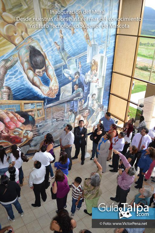Noticias inauguraron el mural en el itsmascota for Avisos de ocasion el mural