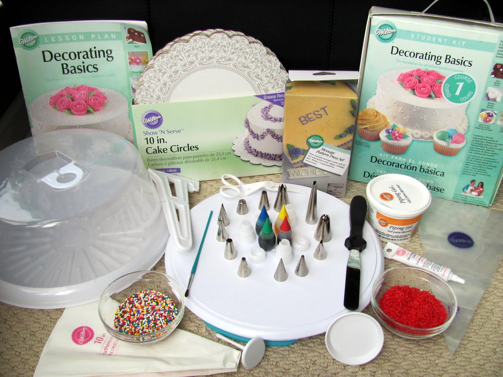 Cake Decorating Classes Michaels Bakersfield : Wilton Class 3 Supply List